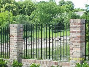 Gartenzaun Aus Stein : gartenzaun modern metall ~ Lizthompson.info Haus und Dekorationen