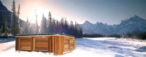 store  hot tub   winter