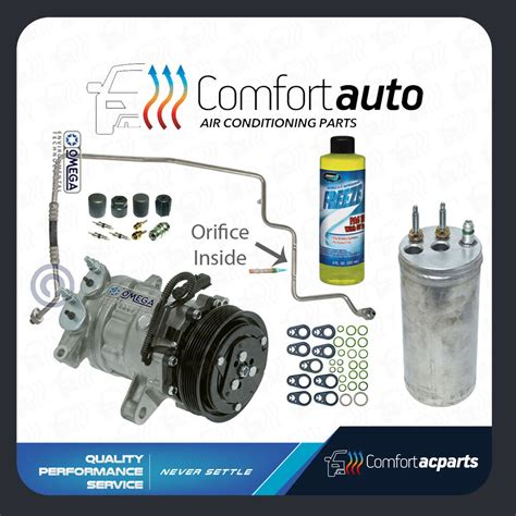 automotive air conditioning repair 2002 jeep wrangler electronic toll collection new ac a c compressor kit fits 2002 2003 2004 2005 jeep liberty v6 3 7l only ebay