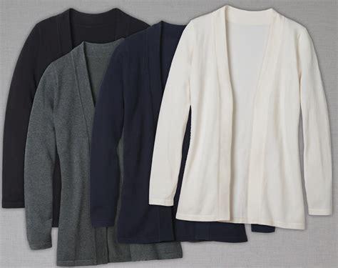 Ladies Open Cardigan Sweater