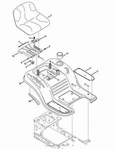 Mtd 13aj78ss099  247 288842   2012  Parts Diagram For Seat