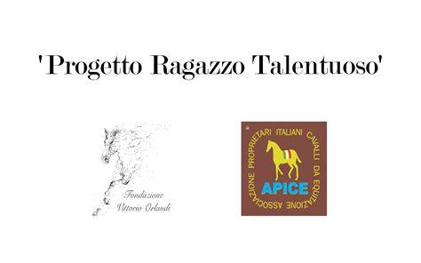 dati cavalli progetto ragazzo talentuoso cavalli d italia