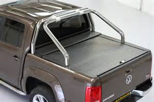 Roll Up Bed Cover by Vw Amarok Armadillo Roll Top Tonneau Cover Roller Shutter