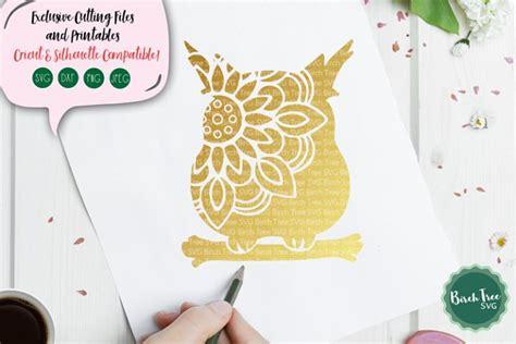 owl mandala svg owl svg owl cut file owl clipart stencil