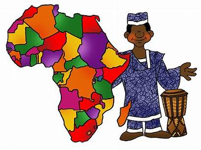 Africa Map Clip Geography Continents African Clipart