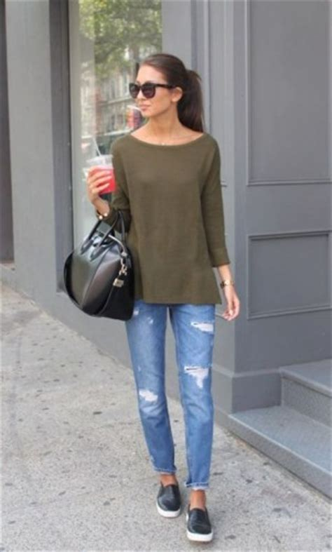 Casual outfits ideas with slip on shoes u2013 Just Trendy Girls