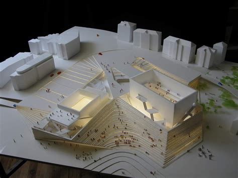 Examples Of Laser Cut Site Models From University Students