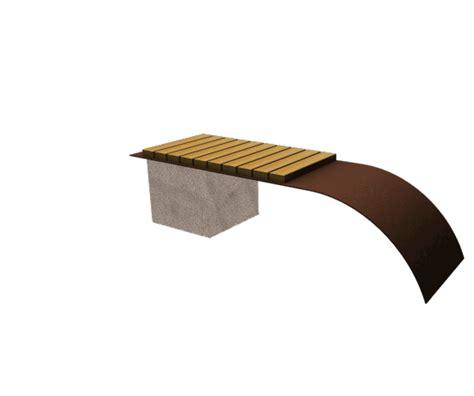 panchine in legno panchina legno mimesi arredo urbano giochi per