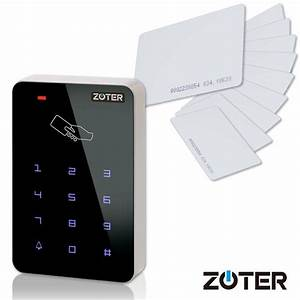 Door Home Access Control 125khz Reader Keypad Backlit Key   Rfid Card For House