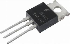 Transistor - TIP41C, NPN Epitaxial Transistor   Amplified Parts  Transistor