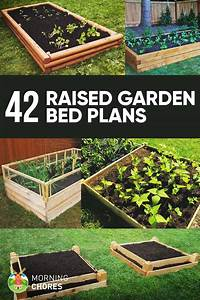 raised bed garden ideas 42 DIY Raised Garden Bed Plans & Ideas You Can Build in a Day