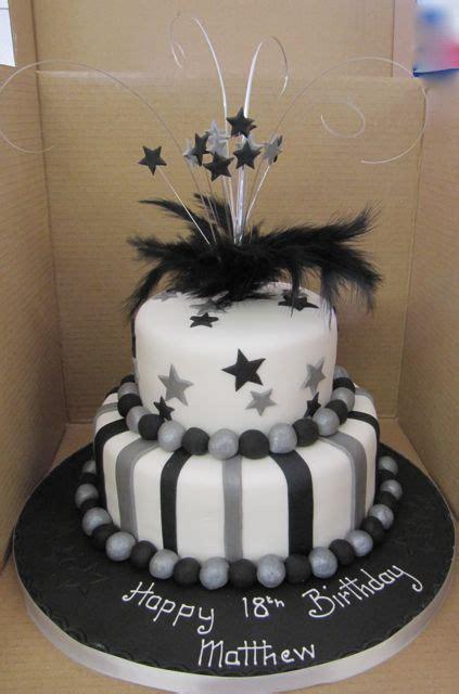 tiered birthday cakes ideas  pinterest fancy