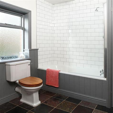 grey and white tiled bathroom bathroom decorating