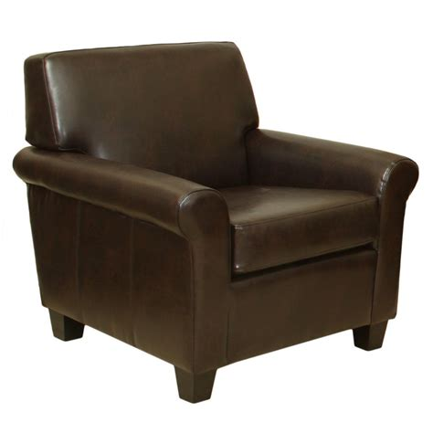 brown leather club chair great deal furniture canada