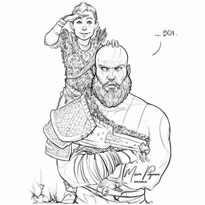Kratos God War Boy Fan Boi Read