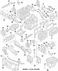 Subaru 11008aa270 Genuine Oem Cylinder Block