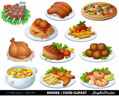 Clipart Clip Dinner Lunch Pizza Spaghetti Meal