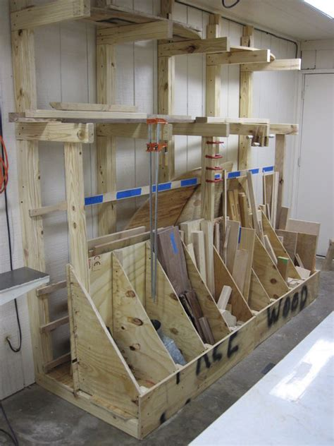 lumber rack ideas bargain lumber rack by thewoodenoyster lumberjocks