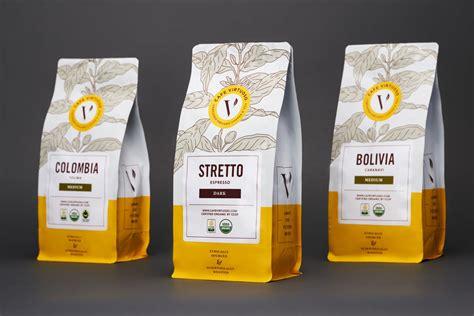 cafe virtuoso coffee packaging  dieline packaging branding design innovation news