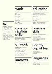 creative layouts for resumes dissecting the and bad resume in a creative field emily henderson