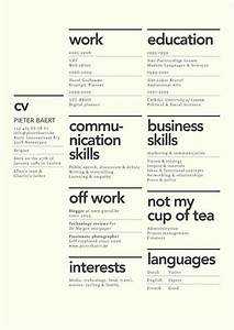 dissecting the good and bad resume in a creative field With creative resume layout