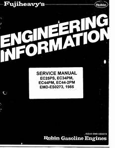 Ebook 2 Cycle Engine Diagram Ec252pg Robin 244cc