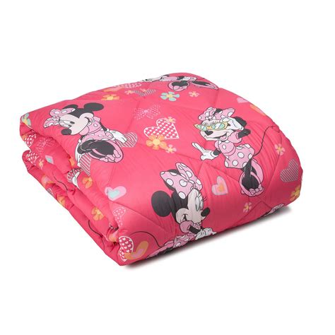 Piumone Minnie Trapunta Singola Caleffi Minnie Happy Casseri Biancheria