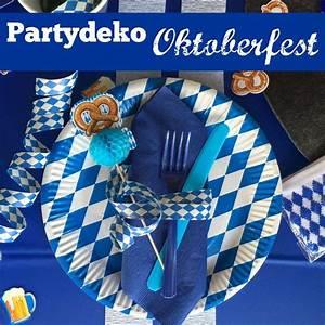 Deko Für Bayrischen Abend : oktoberfest deko in weiss blau basteln pinterest deko und oktoberfest ~ Sanjose-hotels-ca.com Haus und Dekorationen