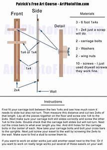 Cheap DIY Easel