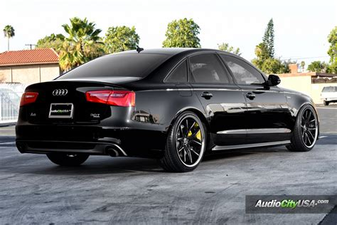 "Audi A6 30 Supercharged On 20"" Lexani R Twelve Wheels"