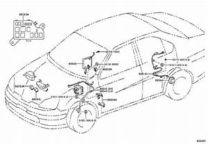 Toyota Prius Abs Wheel Speed Sensor Wiring Harness