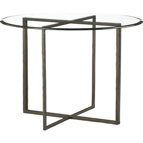crate and barrel round dining table everitt 42 quot round top dining table i crate and barrel