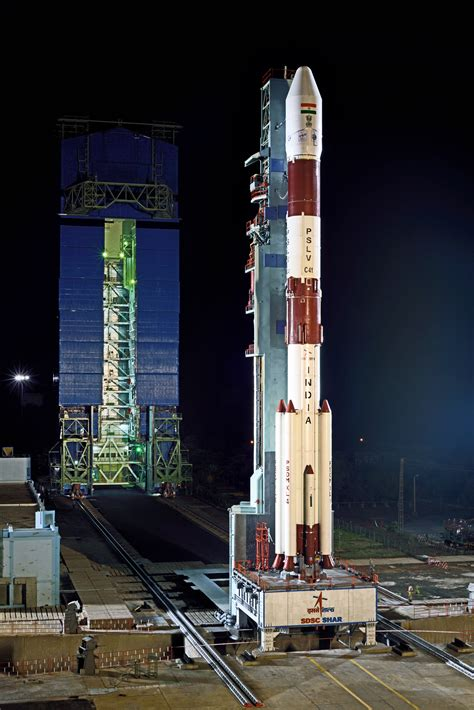 Photos: PSLV Rocket Revealed for IRNSS-1I Launch - PSLV ...