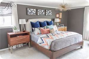 25+ best ideas about Navy coral bedroom on Pinterest