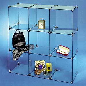 glass cube display cubes display 1226