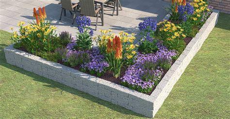 Gartenrand Gestalten by Blumenbeet Gestaltung Mehrj 228 Hrig Wohn Design