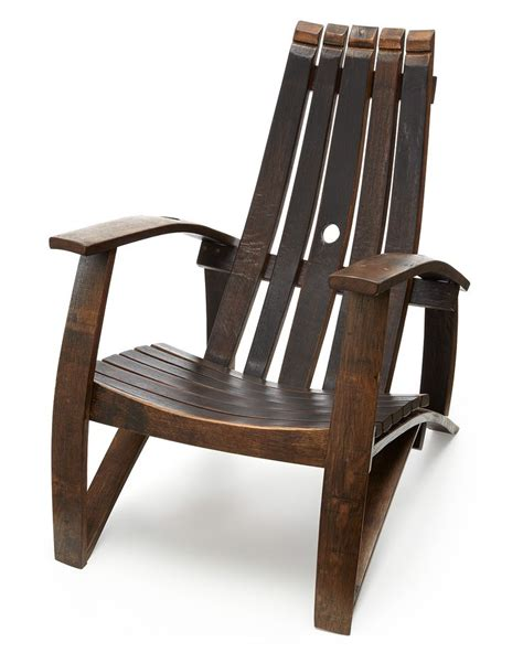 wine barrel adirondack chair plans  woodworking