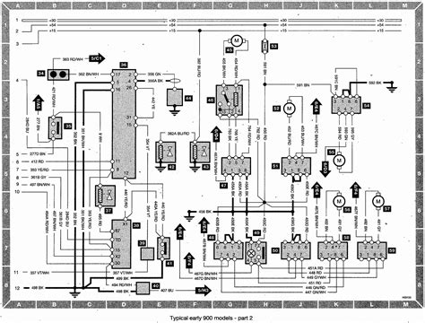 saab  wiring diagram  collection
