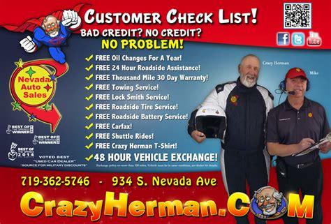 used car ads nevada auto sales magazine ad colorado springs