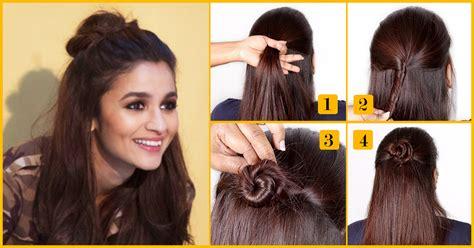 Half Bun Hairstyle Curly Hair Black Brides Hairstyles Boho For Weddings Light Hair Winter Highlights Jokes With Blonde Lavender Scent Ladies In Pakistan Medium Layered Updos