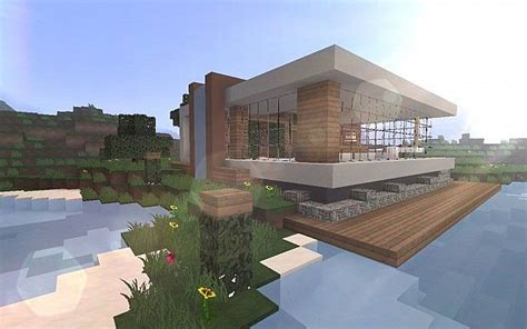 place house minecraft  iet pinterest lake houses places  minecraft