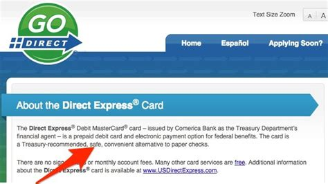 Start your card replacement application now. Social Security Direct Express Debit Card Facts - Direct ...