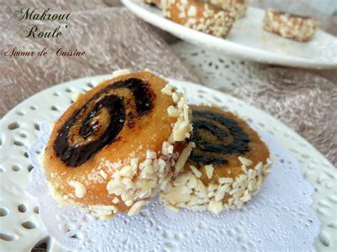 la cuisine de soulef makrout roulé gateau algerien la cuisine de soulef