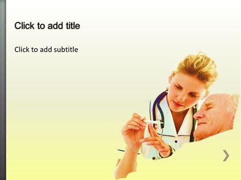 geriatrics medical powerpoint template  medical