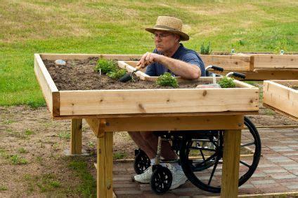 Wheelchair Gardening! What A Great Idea!  { Lpv