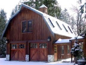 Decorative Barn Style Garage With Apartment Plans by 25 Best Ideas About Gambrel Roof On