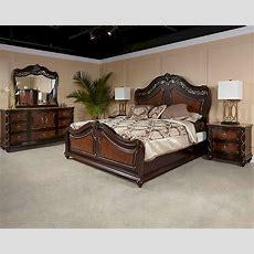 Najarian Furniture Traditional Bedroom Set Venice Navebset
