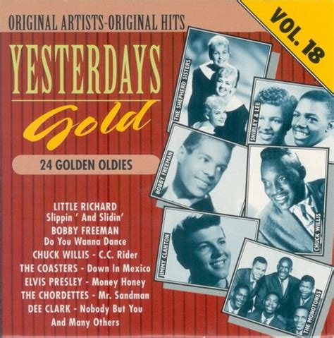 Yesterday's Gold 24 Golden Oldies 25cd (1987) Музыка