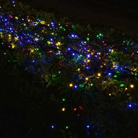 solar powered decorative twinkle multi color led light