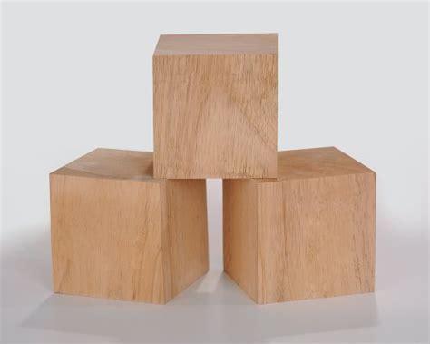 3.5 Inch Solid Wood Blocks Pack of 3   Buy Online in UAE